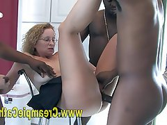 Amateur, Blonde, Creampie, Interracial