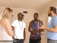 Hardcore, Interracial, Small Tits, Teen, Threesome