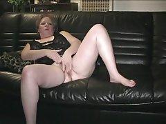 Granny, Masturbation, Mature, Pussy