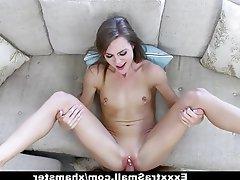 Brunette, Facial, Hardcore, Skinny, Small Tits