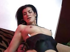 British, Cum in mouth, Double Penetration, Stockings, Mature