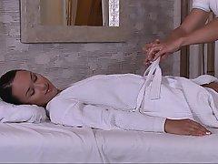 Brunette, Cute, Gorgeous, Massage