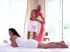 Massage, Cute, Teen