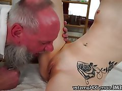 Teen, Old and Young, Massage, Small Tits