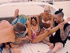 Babe, Teen, Party, Bikini