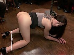 BDSM, Bondage, Brunette, Black