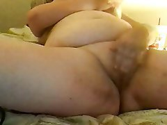 BBW, Masturbation, Webcam