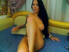 Amateur, Brunette, Masturbation, Webcam