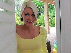 Babe, Blonde, Cute, Casting