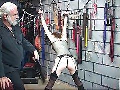 BDSM, Brunette, Lingerie, Pantyhose, Mature