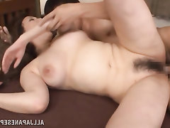 Asian, Babe, Blowjob, Cumshot, Hairy