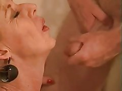 Blowjob, Cumshot, Granny, Group Sex, Old and Young