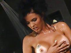 Anal, Brunette, Pornstar, Shower
