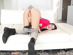 Big Cock, Blowjob, Cumshot, Masturbation, Teen