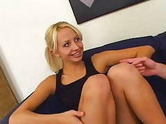 Blonde, Blowjob, Threesome