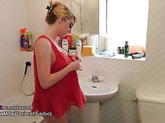 Babe, British, Shower, Voyeur