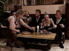 French, Group Sex, Hairy, Old and Young, Vintage